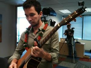 Newsmaker: Makana Live in Civil Beat Newsroom