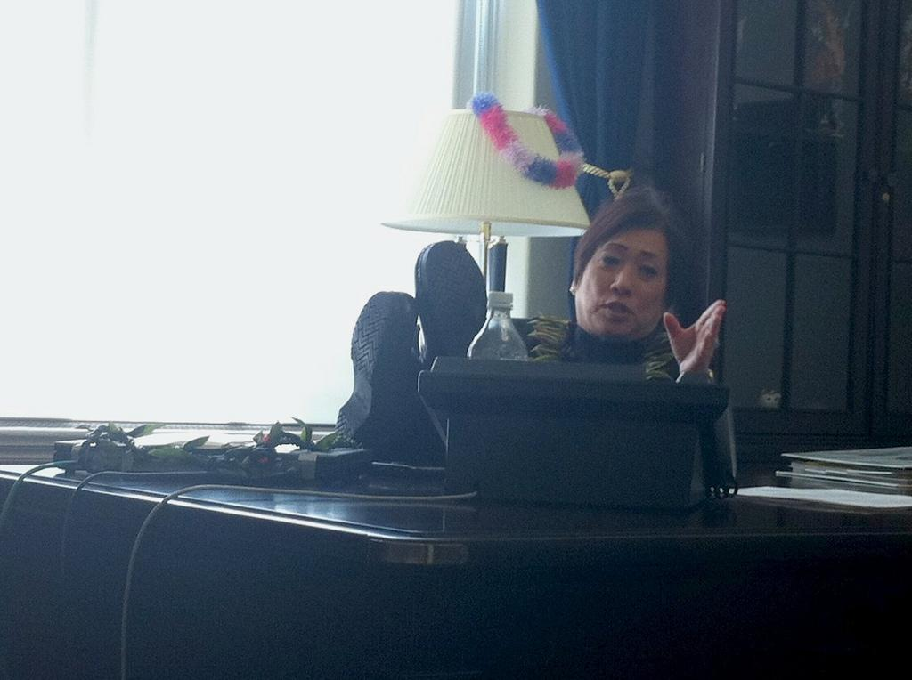 A Day on the Hill: Colleen Hanabusa