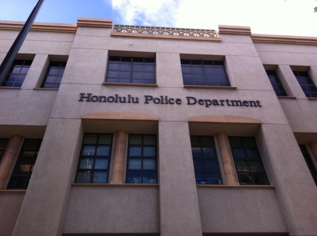 Honolulu Police Department, main station on S. Beretania St.