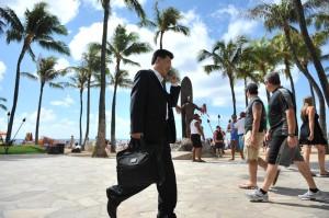 VIDEO — Business in Waikiki During APEC