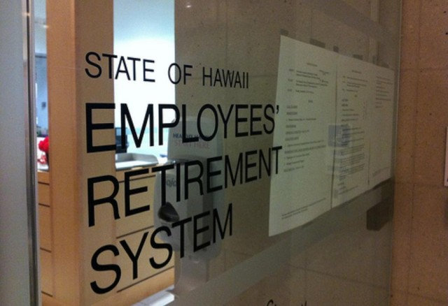 The state Employees' Retirement System sued the state and HHSC over a law targeted at Maui hospital workers.