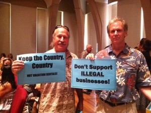 Planning Panel Split Over Honolulu Vacation Rentals