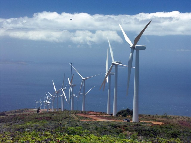 Oshima believes that wind turbine technology, along with solar systems, will become far more efficient in the coming years.