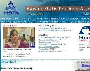 Hawaii Teachers Union President Sends Personal Appeal to Abercrombie