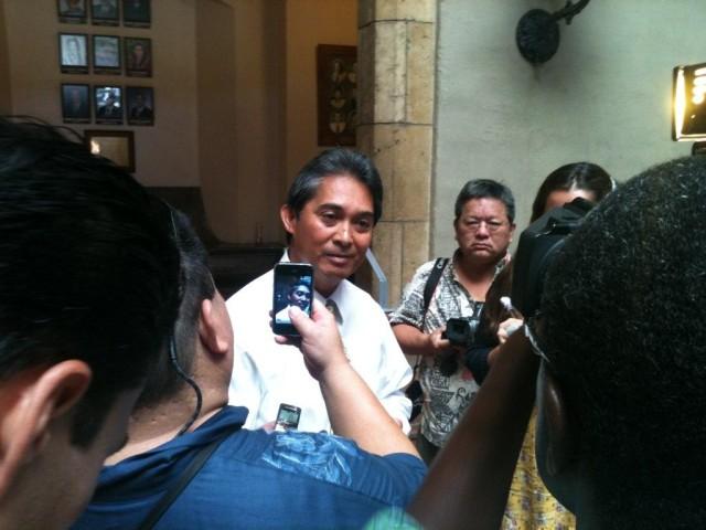 Nestor Garcia — press conference 2