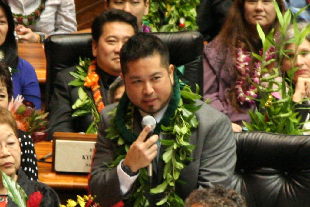 Say, Oshiro Best in Hawaii House at Passing Own Bills