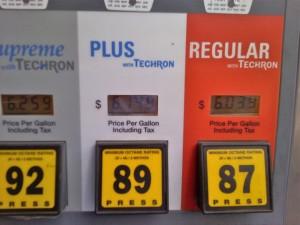 Gas Breaks $6 Mark in Hawaii
