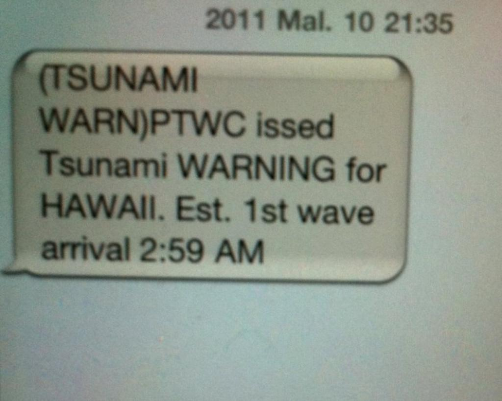 Japan-Level Tsunami Damage Unlikely in Hawaii