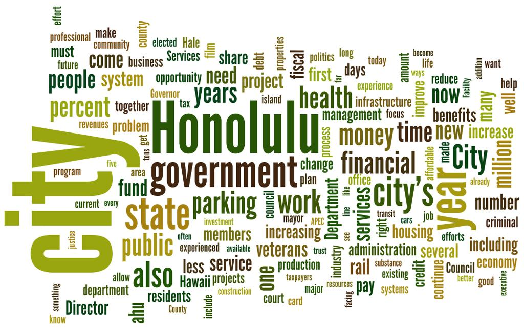 Complete Text: State of the City Address by Honolulu Mayor Peter Carlisle