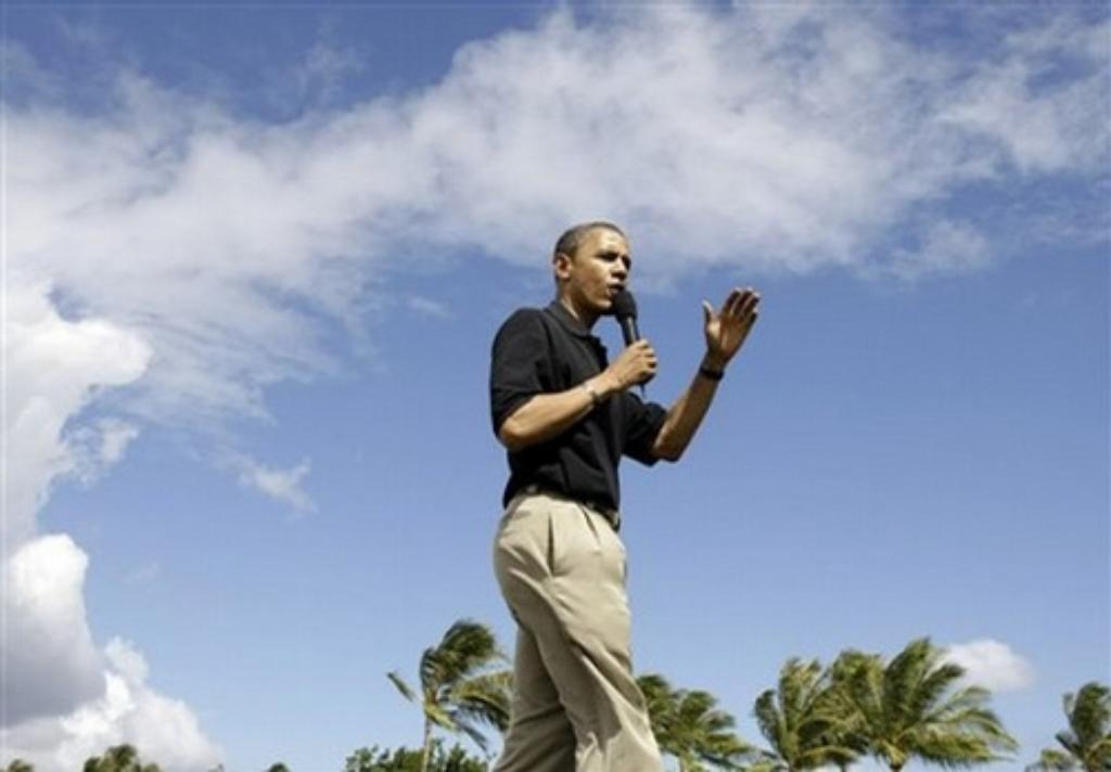 Hawaii's Early 2012 Donors Still Like Obama