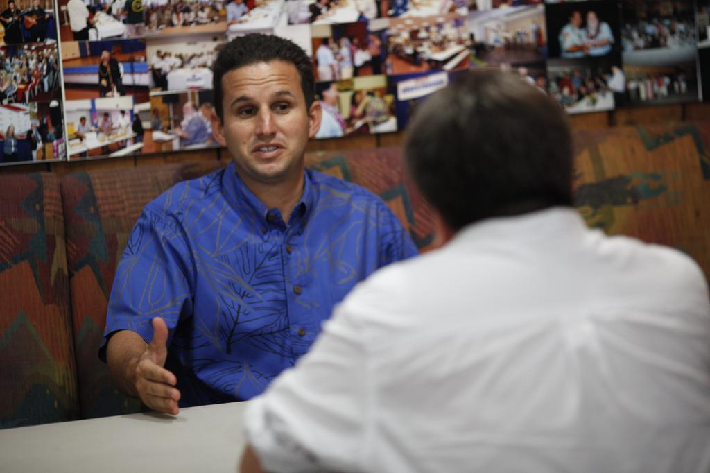 Q&A With Brian Schatz