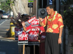 Trailing Gabbard, Hannemann Gives Campaign $150K