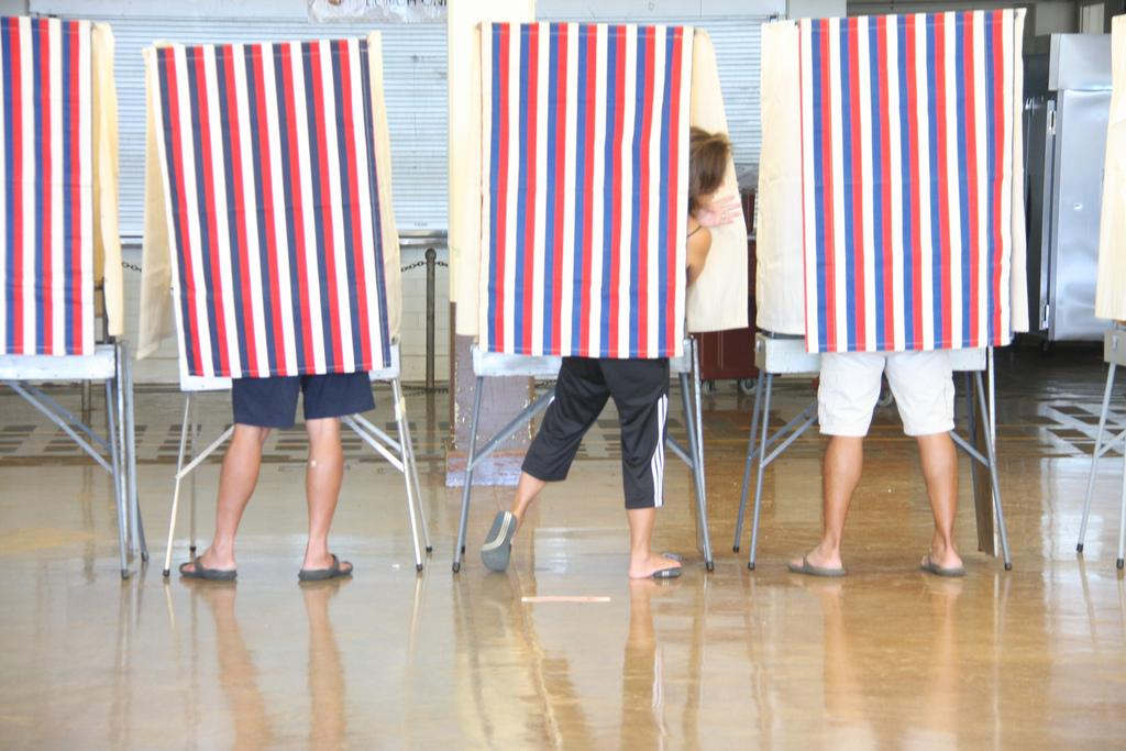Numbers Show We Disappear On Election Day