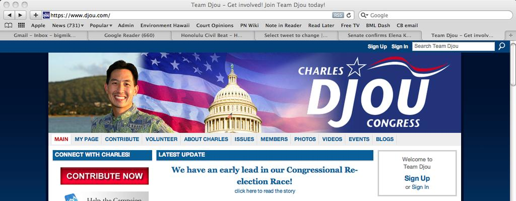 Djou: We Have An Early Lead!