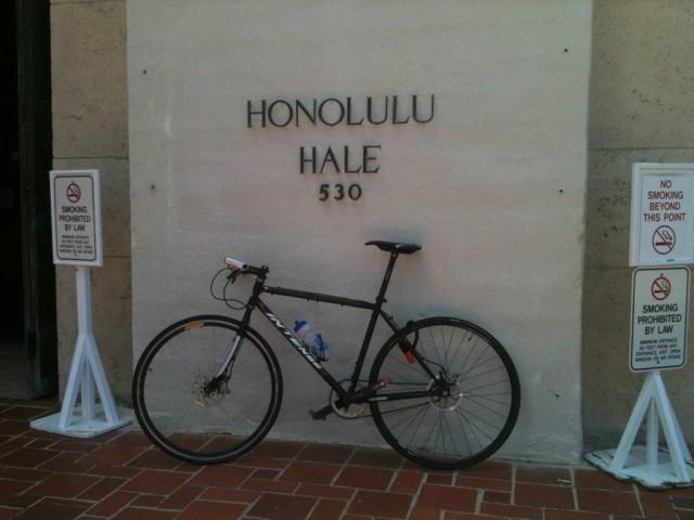 Clerk bike hale