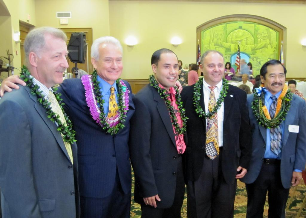 Mayor's Race: Five Men, One Job