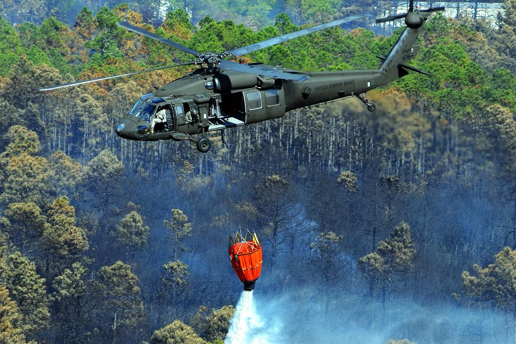 Helicopters Dropping Poison: Coming Soon To A Forest Near You?