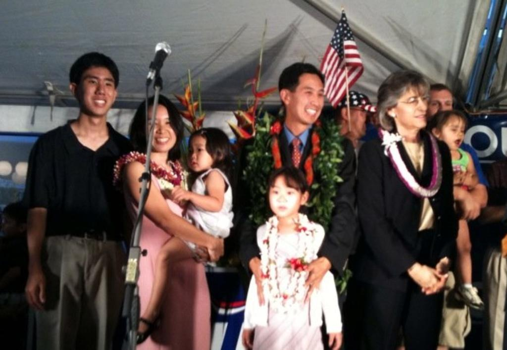 Djou Plays Dad Card As Campaign Issue