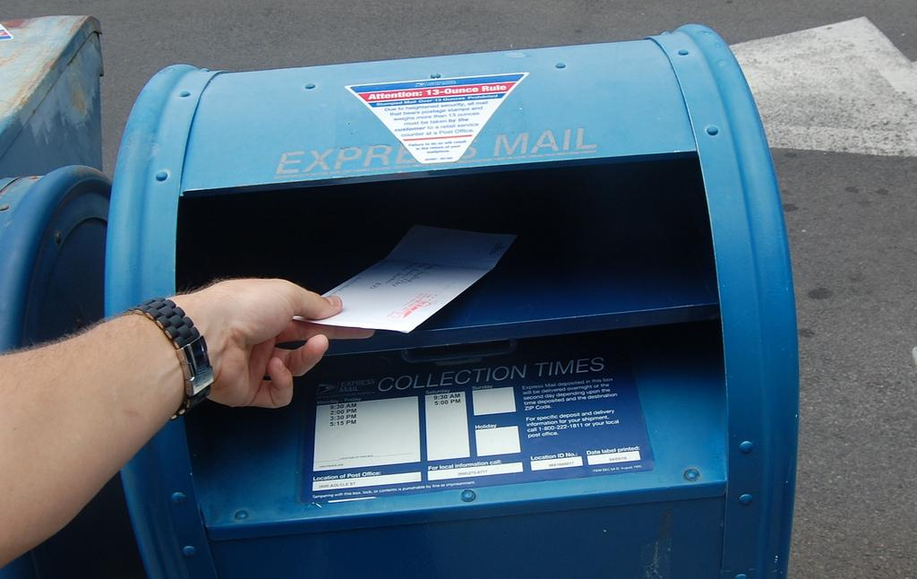 Mail-In Voting The Winner In Special Election