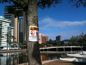 UPDATE: Sewage Spill Contaminates Palolo Stream to Magic Island