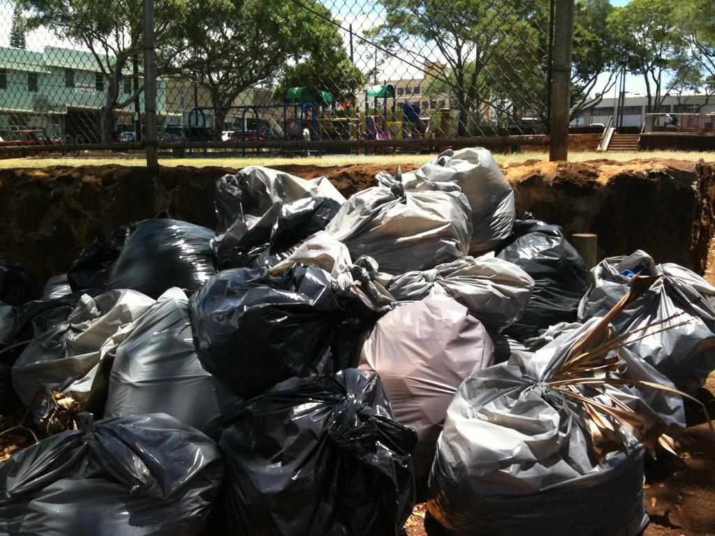 UPDATE: Would you throw out trash if you had to pay by the bag?
