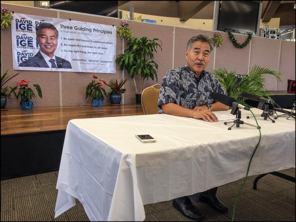 Hawaii Gov Candidates Unveil New Visions for the Next Four Years