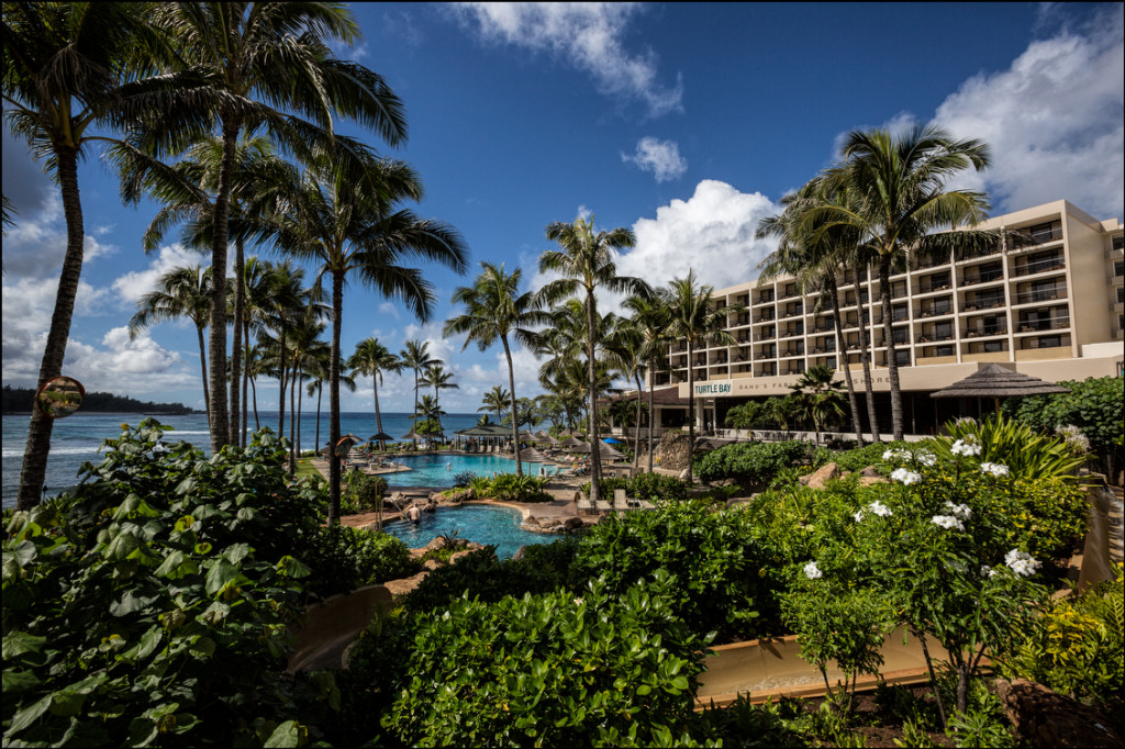 Turtle Bay Resort North Shore of Oahu. 12.18.13