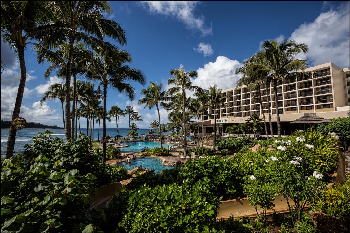 Turtle Bay Resort North Shore of Oahu. 12.18.13