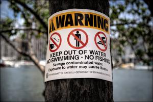 Raw Sewage Leak Near Pearl Harbor