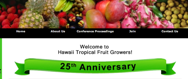 Hawaii Tropical Fruit Growers