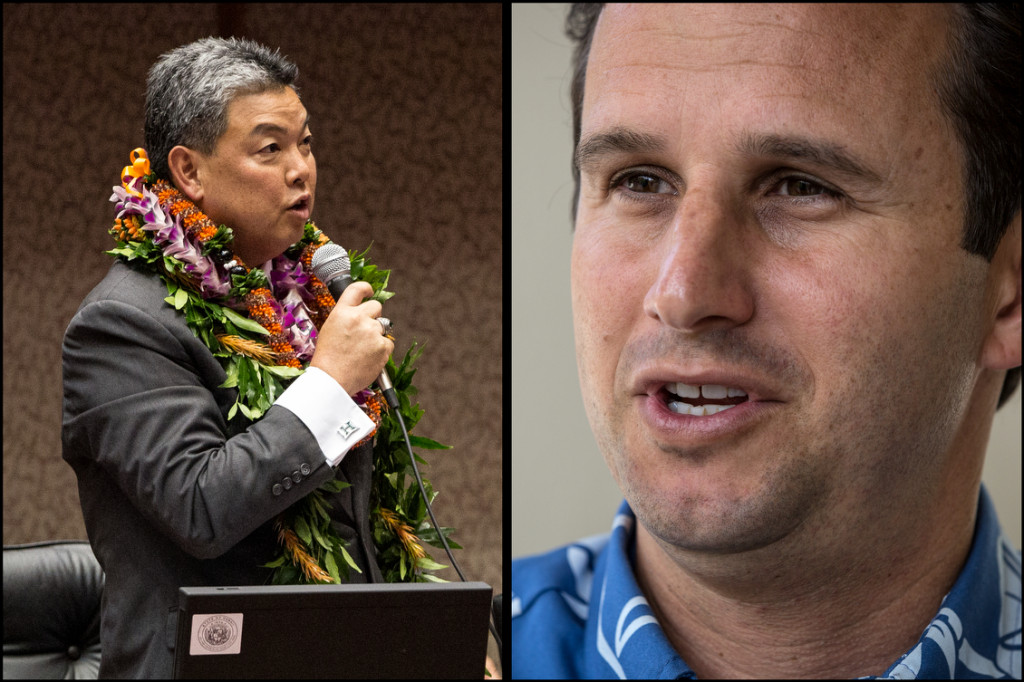 Rep. Mark Takai and Sen.Brian Schatz for CD1 and Senate Polls. 7.31.14