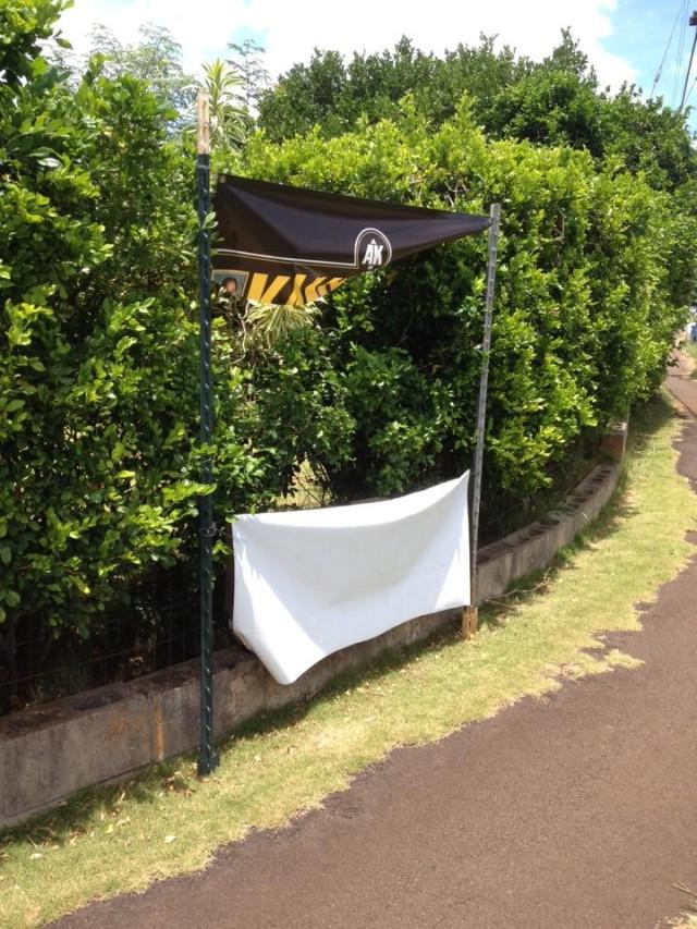 Arryl Kaneshiro campaign sign