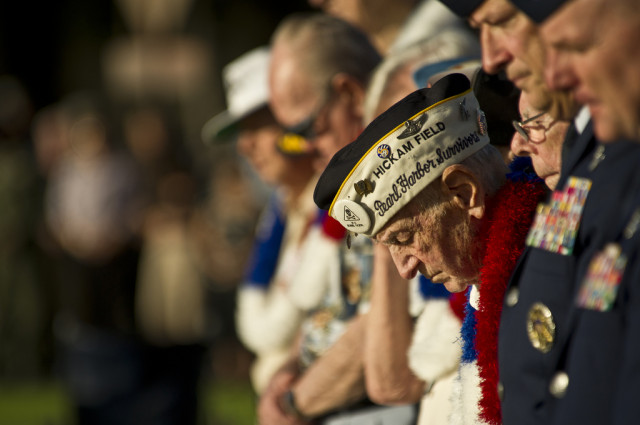Pearl Harbor military veterans