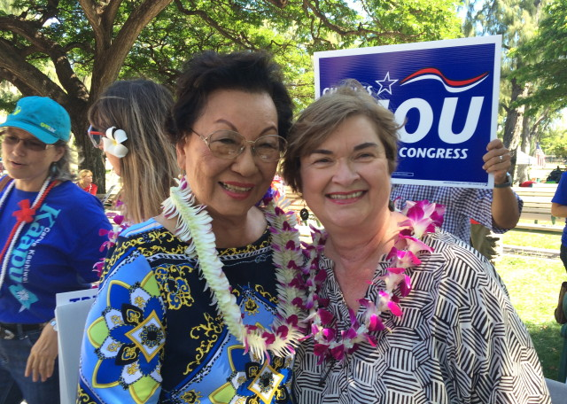 Pat Saiki and Miriam Hellreich are optimistic about the GOP's hopes in 2014.
