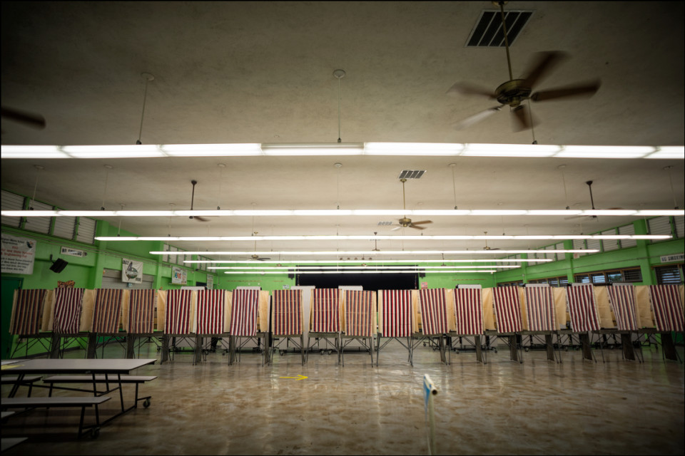 Hawaii's Vanishing Voter