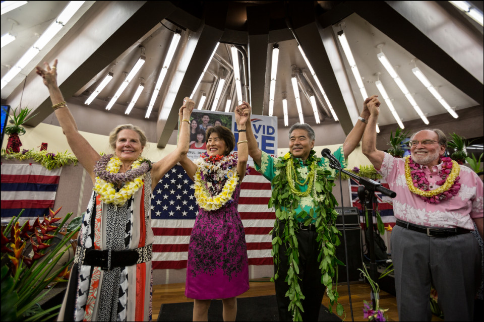 Hawaii Governor: Ige Wins It Big!