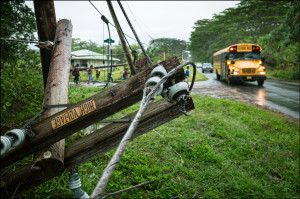Puna Power: More Homes Restored But Thousands Still in the Dark