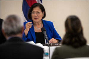 Hirono Reiterates her Opposition to Repealing the Jones Act