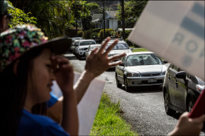 Why My Campaign Doesn't Do Sign Waving