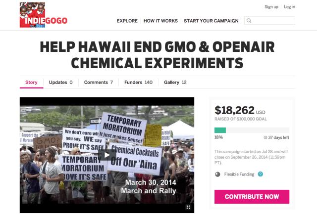SHAKA GMO Fundraiser