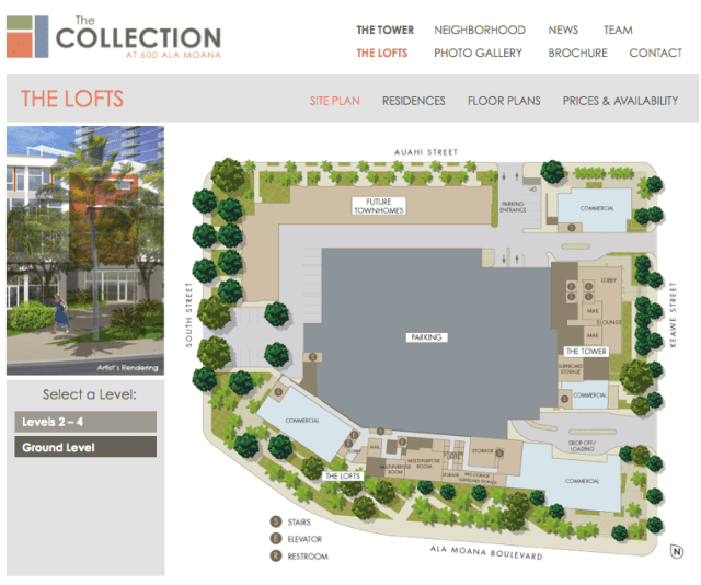 The Lofts The Collection Kakaako Screen Shot