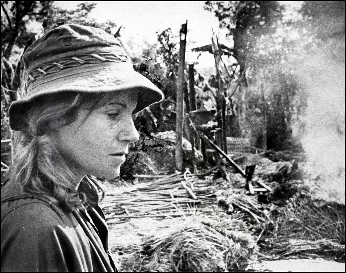 the women correspondents during the vietnam war Affections of a young vietnam- ese woman5 part of the quiet american is a  debate  wood films of the vietnam war are more often set in the 'main force war' .