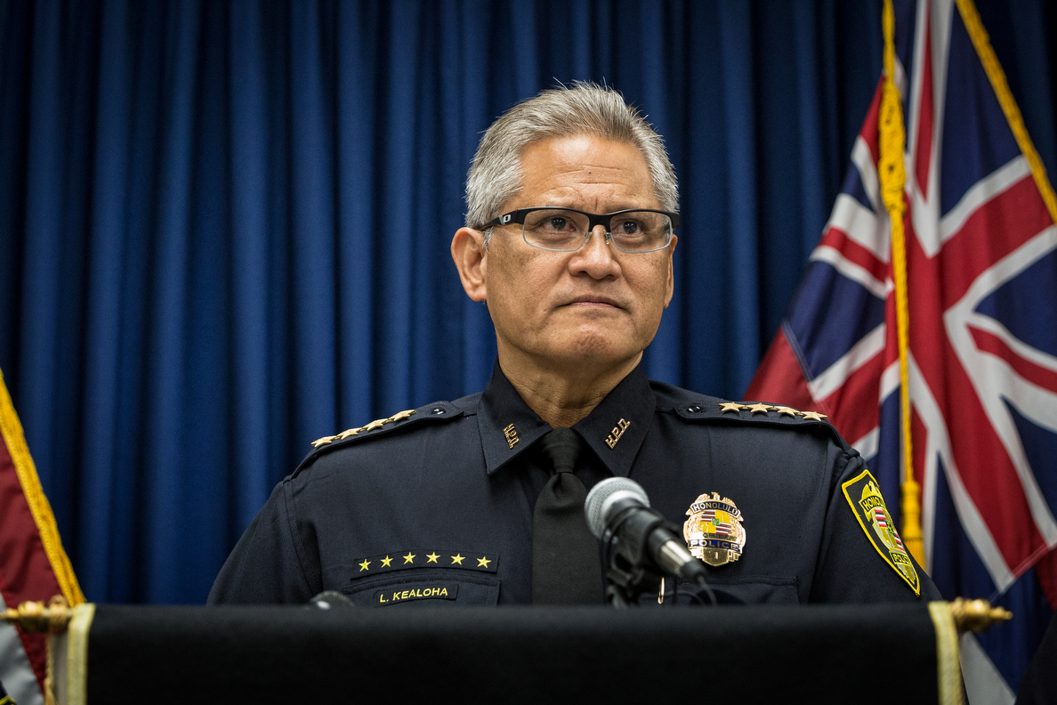 Honolulu Police Chief Placed On Leave During Corruption Probe