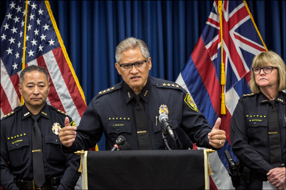 Who's the Special Prosecutor Investigating the Honolulu Police Chief?