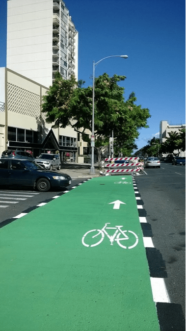 Honolulu Bike Lane: If You Build It, They Will Come