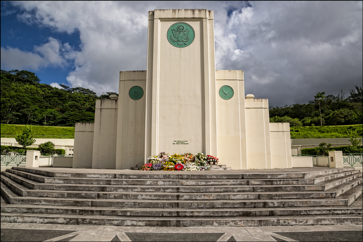 The Hawaii State Veteran's Cemetery in Kaneohe on October 2, 2014