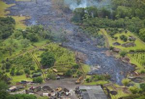 Hawaii Volcano Lava Flow: 'Feel the Heat'