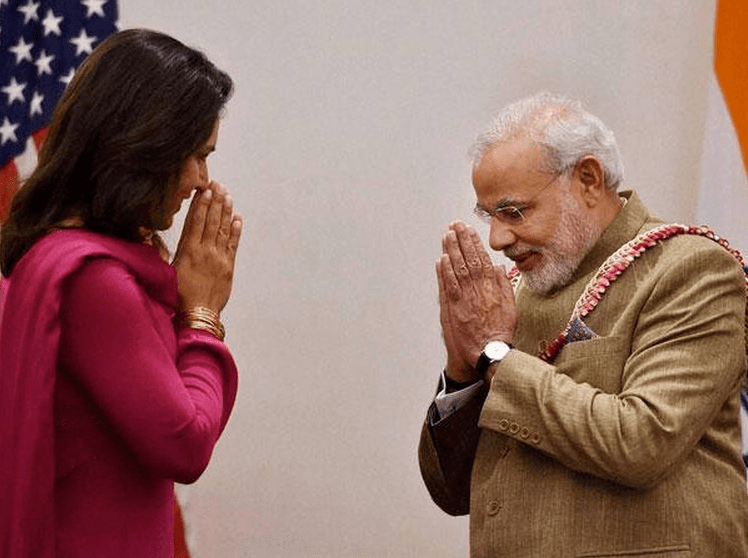Gabbard Applauds Modi Invitation