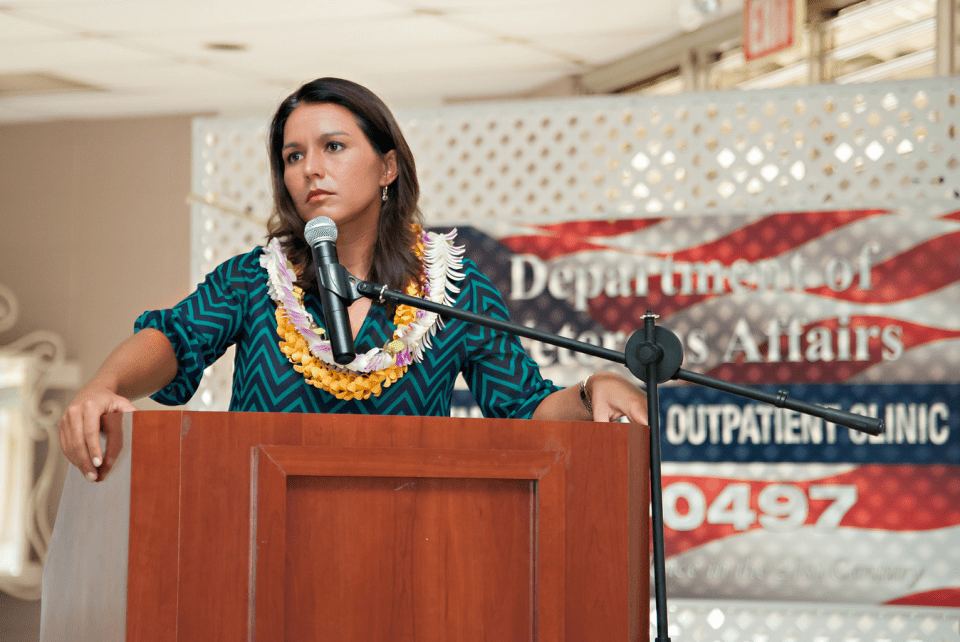 Tulsi Gabbard Emails Thoughts on D.C. and Why She Wants 2nd Term