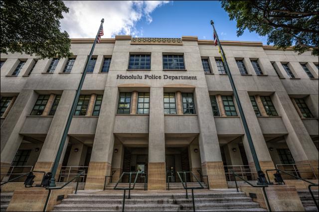 Honolulu Police Department headquarters on Oahu